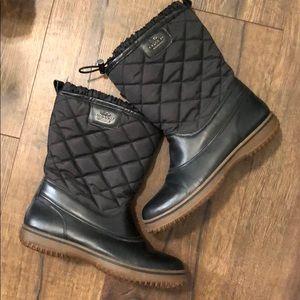Coach Samara Quilted Winter Boots